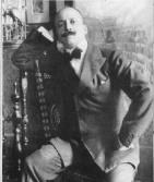 Filippo Tommaso Marinetti, fondatore del movimento futurista italiano